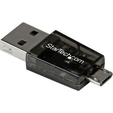 StarTech Micro SD to Micro USB / USB OTG Adapter Card Reader For Android De