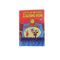 Divertido Libro de colorear mágico Trucos Magia Niños Escenario Juguete mágico