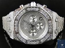 Mens Jojino by Joe Rodeo Simulated Diamond Chronograph Watch MJ-8025-Limited Qty