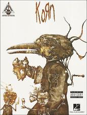 Korn Guitar Recorded Versions Tab vocal SHEET MUSIC BOOK répertoire Shop Sali