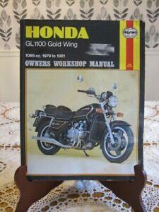 1980-1983 Shop Manual CK19 Honda GL 1100 Gold-Wing Aspencade Interstate SC02