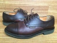 Mephisto Sz 8.5 US Air Relax Goodyear Welt Brown Pebbled Leather Oxford Shoes