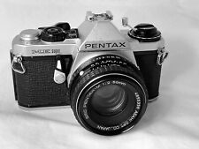 Pentax ME Super Film Camera, Pentax 50mm F.2 Lens, New Seals, Working Correctly
