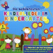 DIE BELIEBTESTEN KINDERLIEDER IM KINDERGARTEN 2 CD NEU