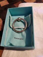 TIFFANY & CO STERLING SILVER 925 CIRCLE  BABY RATTLE / TEETHER