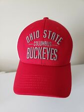 best loved 7938d 71156 Ohio State Buckeyes Columbus OH OSU Mesh Snapback Baseball Cap Hat  Embroidered