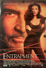 """ENTRAPMENT Original Movie Poster 27"""" X 40"""" DS/Rolled - 1999 - SEAN CONNERY"""