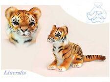 Endangered Species. Sumatran Tiger Cub Plush Soft Toy Wildcat by Hansa. 6680