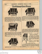 1936 PAPER AD 2 PG Coleman Camp Stove Parts Repair Price Lists 3H 2H 9H 6F 4F