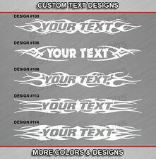 Fits HONDA CRX Custom Windshield Tribal Flame Decal Design Vinyl Graphic Sticker