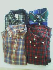 Lot Of 4 Chaps Gymboree  Boys Dress Shirts Size 4