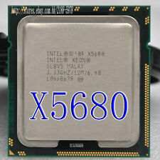 Intel Xeon Six-Core X5680 SLBV5 3.33GHz 12MB 6.40GT/s LGA1366 CPU