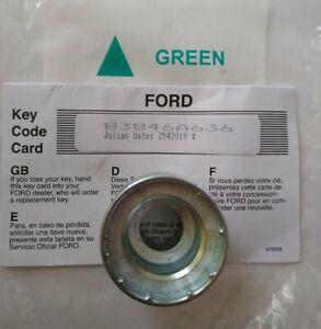 GENUINE FORD LOCKING WHEEL NUT BOLT KEY HEX GREEN TRIANGLE 21mm code 83846A636