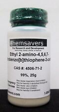 Ethyl 2-amino-4,5,6,7-tetrahydrobenzo[b]thiophene-3-carboxylate, 99%, 25g