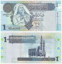 Libye 1 Dinar 2004 P-68b UNC Universel du Colonel Kadhafi dictateur billet
