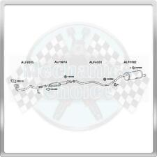 Complete Exhaust System for Alfa Romeo 156 1.8 (01/98-05/00)