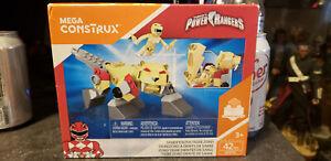 Mega Bloks Sabans Power Rangers Mega Construx Sabertooth Tiger Zord Set DPK74