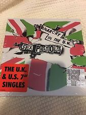 "Sex Pistols Anarchy In The Uk 7"" Box Set RSD 2017 Record Store Day 2017"