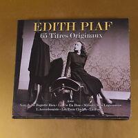 EDITH PIAF - 65 TITRES ORIGINAUX - 2011 NOT NOW - OTTIMO CD [AO-037]