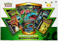 Venusaur EX Generations Collection Box NEW Pokemon Card XY 124 Red Blue Booster