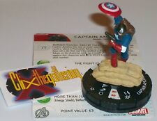 CAPTAIN AMERICA 001 MARVEL 10TH ANNIVERSARY Marvel HeroClix