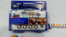 New Dremel 686-01 31-Piece Sanding / Grinding Accessory Kit