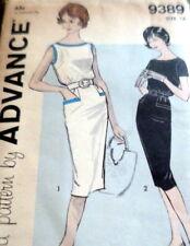LOVELY VTG 1960s DRESS ADVANCE Sewing Pattern 16/36