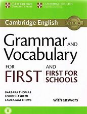 Cambridge English GRAMMAR & VOCABULARY FOR FIRST CERTIFICATE FCE & f SCHOOLS New