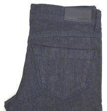 NWT DIESEL Women's Dark Wash 0RZ74 Livier Super Slim Flare Jeans 30 x 32