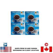 Mercury Sr44W Swiss Made Us Seller 4 Pcs Renata 357 Watch Batteries 0%