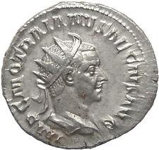 """Trajan Decius Authentic Ancient Silver Antoninianus """" Victory walking """""""