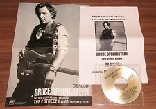 BRUCE SPRINGSTEEN Japan PROMO ONLY  CD acetate + PRESS RELEASE & PROMO leaflet
