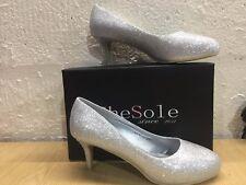 Shesole para mujeres Plataforma Zapatos De Salón Nupcial Graduación EU 40