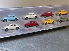 1/87 Brekina VW Beetle 8er Set Série 3 90457