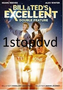 Bill & Ted's Excellent Adventure + Bogus Journey DVD New and Sealed Australia