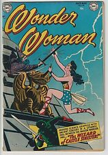Wonder Woman # 54 VG/F 5.0 Solid Copy, Scarce ONLY 20 EVER GRADED BY CGC ! WOW!