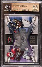 2007 Ultra Ultra comparisons Adrian Peterson LaDainian Tomlinson bgs 9.5