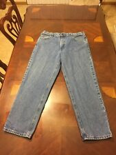 Carhartt Men's Relaxed Straight Fit Jeans Size 40x32  100%Cotton