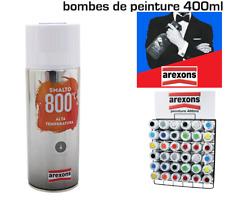 Bombe Peinture AREXONS Pro Haute Température 800° Vernis Transparent 400 ml