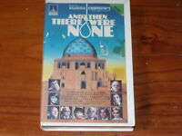 And Then There Were None VHS 1970s UK Mystery Thorn EMI Home Video PAL