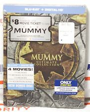 NEW THE MUMMY ULTIMATE COLLECTION 5 DISC BLU-RAY+DIGITAL HD STEELBOOK! BEST BUY