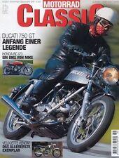 MC0106 + DUCATI 750GT + HEINKEL Perle + PUCH 250 Sport + MOTORRAD CLASSIC 6 2001