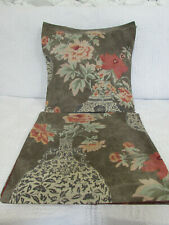 Cushion Cover, Osborne and Little, Vintage, Grey, Red, Green,1987, Peony Pots, .