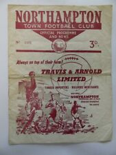 More details for northampton town vs peterborough united | 1960/1961 | fourth division