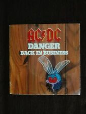 "AC DC Danger  SPAIN 7"" 45 PS 1985 WEA SPAIN VERY RARE"