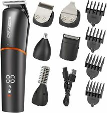 Roziaplus Beard Trimmer Hair Clippers 6 in 1 Multi-functional Grooming Kit NEW