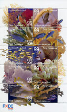 Dutch Caribbean 2017 MNH Underwater Life St Eustatius Fish Corals 10v M/S Stamps