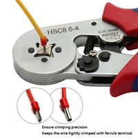0.25-10mm² Terminal Crimping Tool Bootlace Ferrule Crimper Wire End Cord Pliers