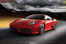 "Red Ferrari F430 SCUDERIA ""Apocalypse"" Official Sports Car POSTER - Rare!"