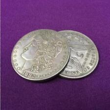 Supper Flipper Coin Morgan Dollar Coin magic Accessories butterfly coin Tricks